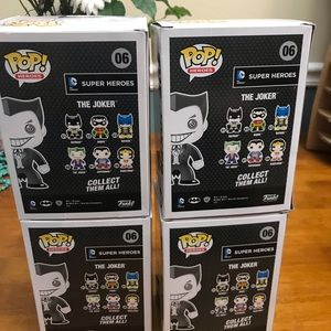 Funko Other - Funko Hot Topic Exclusive black and white joker